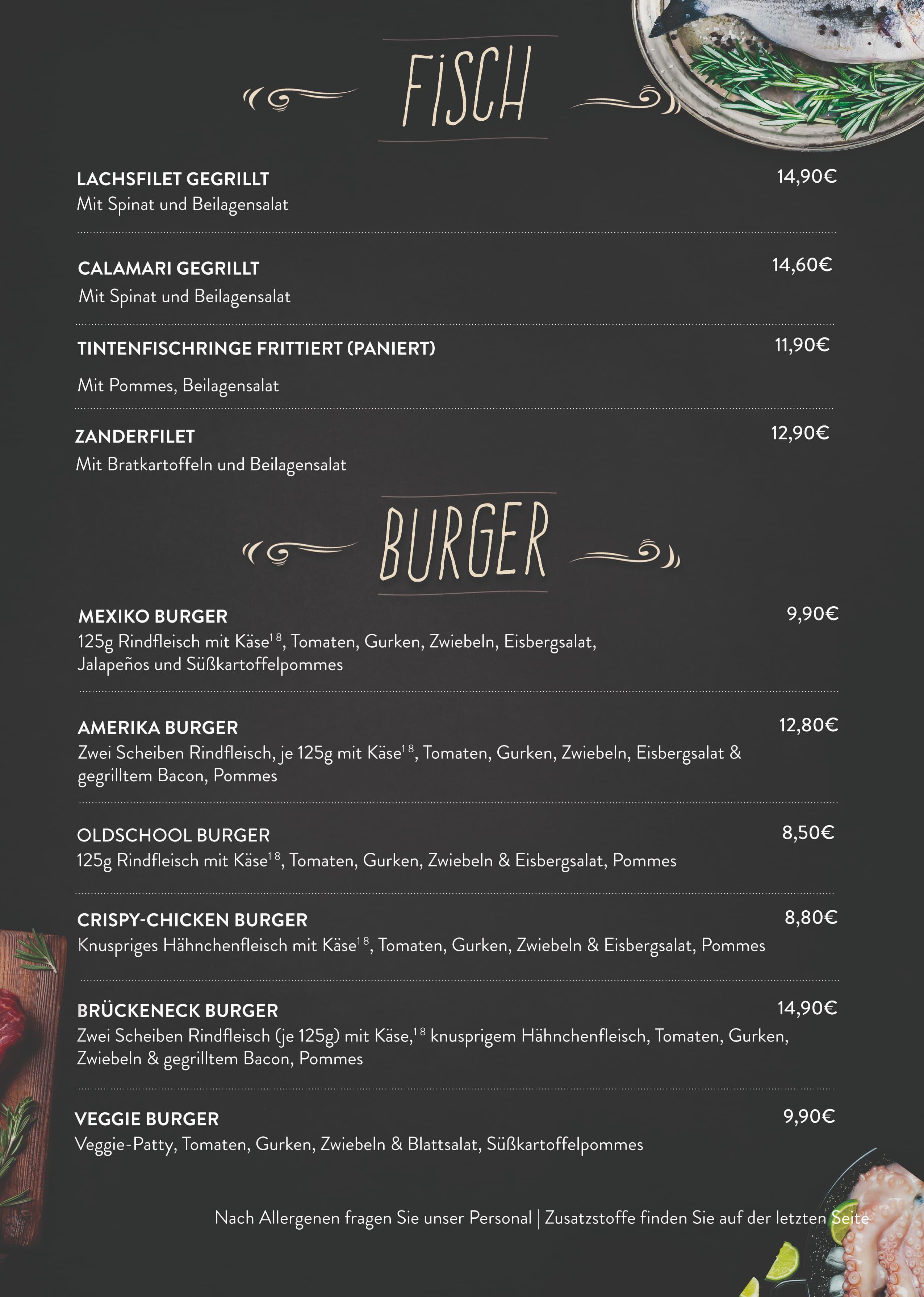 Seite 8 Fisch & Burger